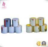 Kappen van het Aluminium van de Fles Metalized van het Metaal van het Embleem van de douane de Schroefdop Gouden