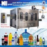 Linha automática pequena projeto da máquina de enchimento da água mineral do orçamento