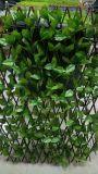 Da cerca artificial da planta da decoração do jardim conversão protegida UV