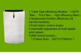 Katalytischer betätigter Filter-Luft-Innenreinigungsapparat des Kohlenstoff-HEPA für HauptCj1019