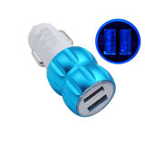 De dubbele Adapter van de Lader van de Auto van de Haven USB 2 voor iPhone 6 6s