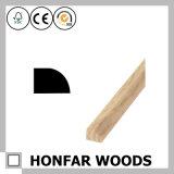 7/16 внутри. X 11/16 внутри. Обход твердого Baseboard древесины сосенки отливая в форму