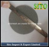 Camada do disco do filtro do aço inoxidável única