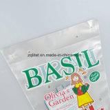Saco de plástico de empacotamento do alimento dos tomates do saco do wicket do violoncelo do Trapezoid