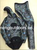Мокрая одежда Freediving Spearfishing клетки типа Camo неопрена Heiwa Sheico Yamamoto высокого качества открытая с прилипателем., 05