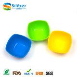도매 BPA는 실리콘 정연한 모양 샐러드 음식 서빙 사발을 해방한다
