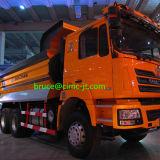 중국 본토에 의하여 사용되는 남자 디젤 엔진 팁 주는 사람 트럭
