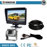 """7 """"sistema de Secirity con el monitor del LCD y cámara reversible impermeable"""