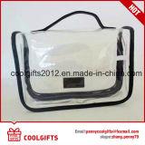 昇進のための防水PVC明確な構成の洗浄装飾的な袋