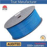 Bleu tressé droit à haute pression de tuyaux d'air du polyester TPU/canalisation d'air/conduit d'aération 5*8
