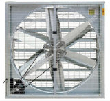 Ventilateur industriel de déflecteur de culture hydroponique avec l'obturateur centrifuge