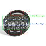 Qualité 7&rdquor de paires ; phare du faisceau DEL de 78W Hi/Lo pour le Wrangler de jeep