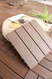 Telha composta de madeira antiderrapante resistente da plataforma da co-extrusão da térmita ao ar livre durável