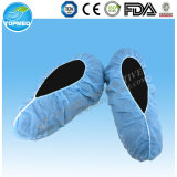 Cubierta de calzado antideslizante, anti tapa de la zapata de deslizamiento, Media Coated cubierta de zapatos PP no tejido