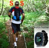 Relógio esperto de Tangan do atolamento de um Layar de 2.5 polegadas, micro perseguidor GPS101 do GPS da microplaqueta de Gelang para crianças e adulto