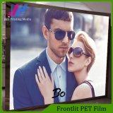 Impression Front Pet Film pour l'affichage