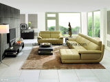 Sofà classico del cuoio domestico moderno del salone (UL-NS025)