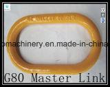 Eslabón de unión forjado de tipo europeo de Gyr007 G80