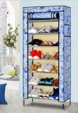Gabinete de dobramento do organizador do armazenamento da sapata do carrinho de indicador de DIY