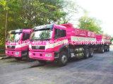 30 6X4 van de Nieuwe J5P van FAW ton Vrachtwagen van de Stortplaats