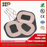 La dimensión de una variable especial Qi aprobó la bobina de carga sin hilos de tres bobinas