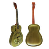 Guitarra de bronze do ressonador do estilo do corpo O do metal de Bell da fábrica por atacado