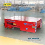 Carro eléctrico de la transferencia del carril de acero del rectángulo con la carga 5t