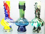 """9"""" forma de hongo suave de cristal del tubo de agua / tabaco de pipa de fumar"""