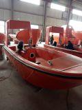 GRP 6 Personen-Rettungsboot mit einzelnem Arm-Davit