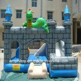 膨脹可能なおもちゃの恐竜の跳躍の城