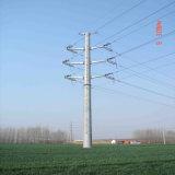 Pole galvanisierter Stahlaufsatz 10kv/60kv/132kv/230kv/380kv/400kvelectric/Kraftübertragung-Stahl Pole