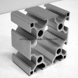 Profil industriel en aluminium pour la ligne d'assemblage Matt Silver Color Electrophoresis