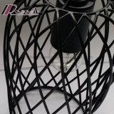 Свет сети черного листового железа Matt круглый привесной для столовой