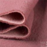 Doppi tessuti del cachemire dei lati di colore rosa 100% per la stagione di inverno