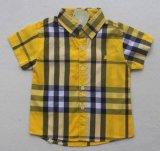 스퀘어 17114 아이들 옷 의복에 있는 형식 소년 아이들 검사 셔츠