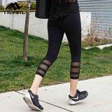 Legging 숙녀 까만 살짝 미는 바지를 달려 2017의 스포츠 착용 유형 여자