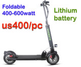 Миниый складывая самокат волокна углерода 400watt электрический складной