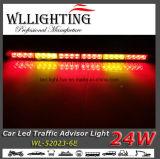 Barre chiare d'avvertimento del Consigliere di traffico del supporto LED di Winshield dell'automobile