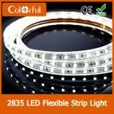 Luz de tira elevada do diodo emissor de luz do CRI de SMD2835 DC12V