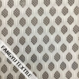 복장을%s 백색 반점 모양 레이스 직물