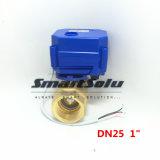 2 latón Control de flujo eléctrico Camino Válvula de bola de agua / válvula eléctrica