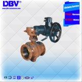 Válvula elétrica motorizada pneumática da válvula de esfera de Wcb