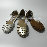 Neue Art-Dame-Schuh-flache Schuh-Sandelholze