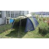 6 Personen-doppelte Schicht-kampierendes Zelt mit Wohnzimmer