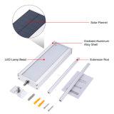l'indicatore luminoso solare 800lm del sensore di movimento del radar di a microonde 48LED impermeabilizza l'illuminazione esterna del punto di obbligazione della lampada da parete della via