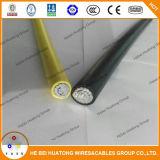 UL-Standardaluminiumleiter Xhhw-2 2AWG XLPE deckte Kabel ab