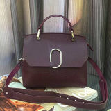 Nuevos bolsos del cuero genuino del diseño bolso de hombro de la señora del Color-Collsion China Emg4948