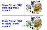 Ente d'argento meccanico della valvola a farfalla per Nissan Rb25 che corrono il collettore di presa