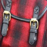 Backpack способа повелительниц, способ проверил Backpack женщин ткани картины