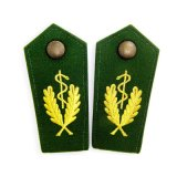 Venta de los Epaulettes de la fila militar del bordado de la alta calidad